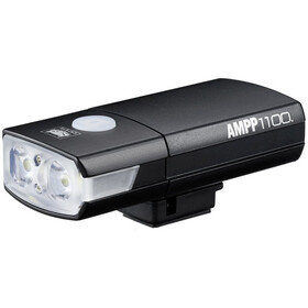 CatEye Ampp 1100 HL-EL1100RC Lampe de casque Support / Câble USB incl., black